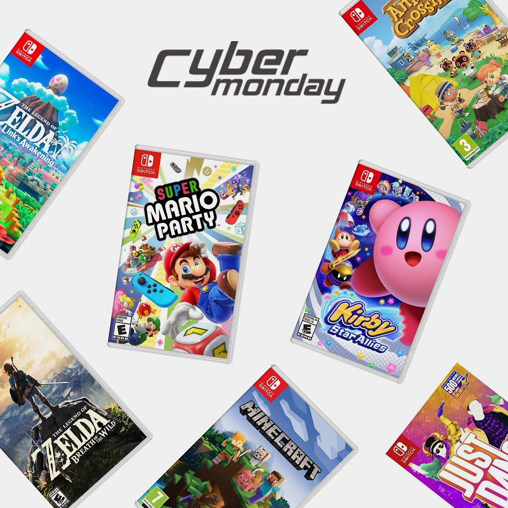 Best Video Game Deals for Cyber Monday 2020