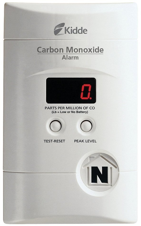 Nighthawk Plug-In Carbon Monoxide Alarm with Battery Backup and Digital Display