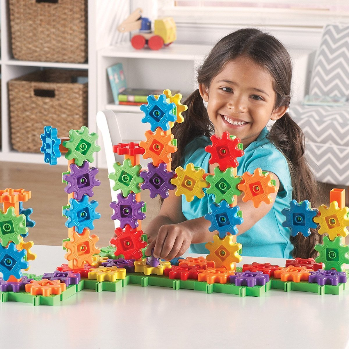 Learning Resources 100-Pc Deluxe Building Set