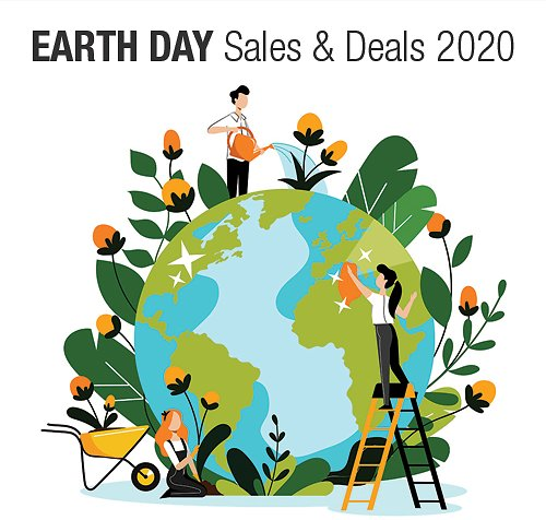 Earth Day Events & Sales 2020