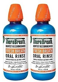 2-Pack 16oz. TheraBreath Oral Rinse (Icy Mint)