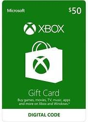 $100 Microsoft Xbox Gift Card Email Delivery