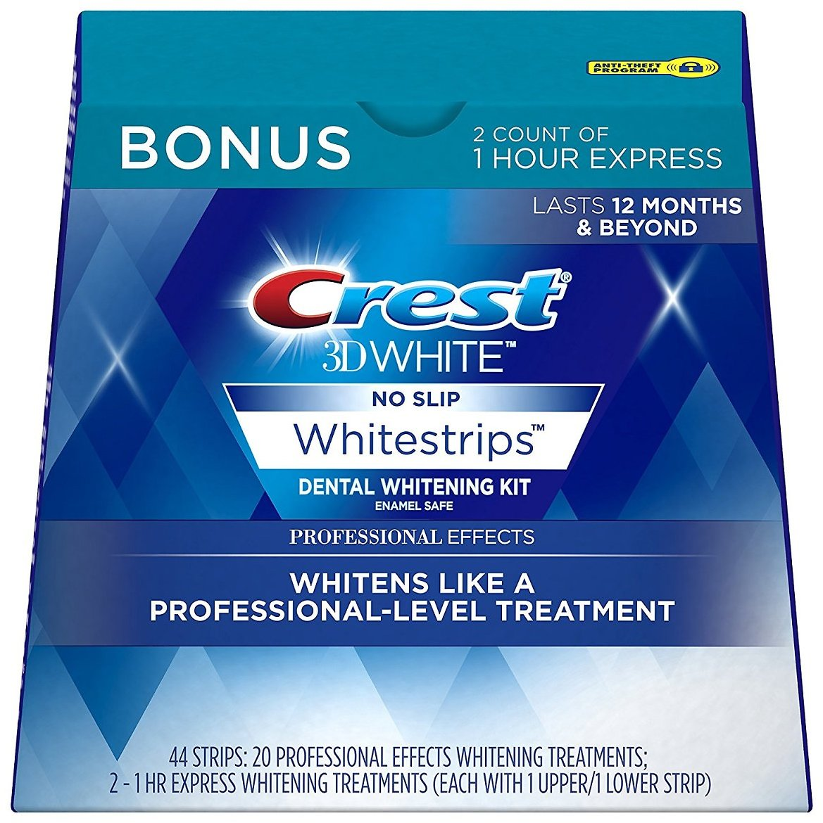 Crest 3D White Luxe Whitestrips + Ships Free