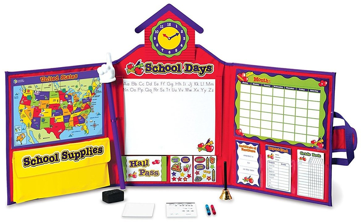 Learning Resources Pretend & Play 149-Piece School Set