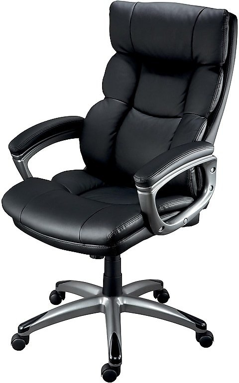 Staples Burlston Managers Chair + Ships Free