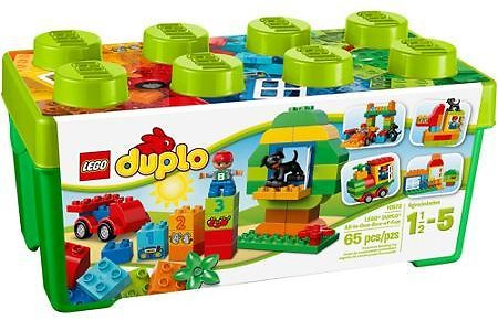LEGO DUPLO All-in-One Box of Fun Building Set - 65 Pieces