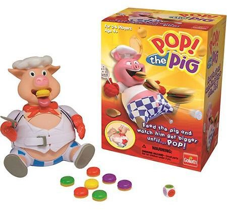 Pop the Pig Game - Family Game by Goliath Games (30546) Walmart