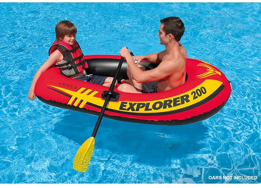 2-Person Intex Explorer 200 Inflatable Boat (Add-on Item)