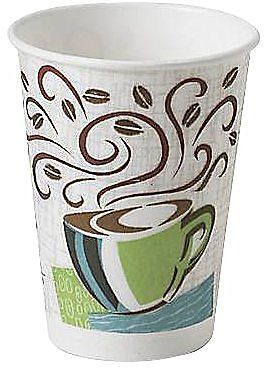 50-Pack 12-Oz Dixie PerfecTouch Paper Hot Cup