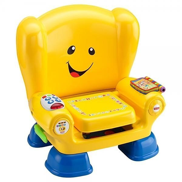 Fisher-Price Laugh & Learn Smart Stages Chair, Yellow ABC Chair