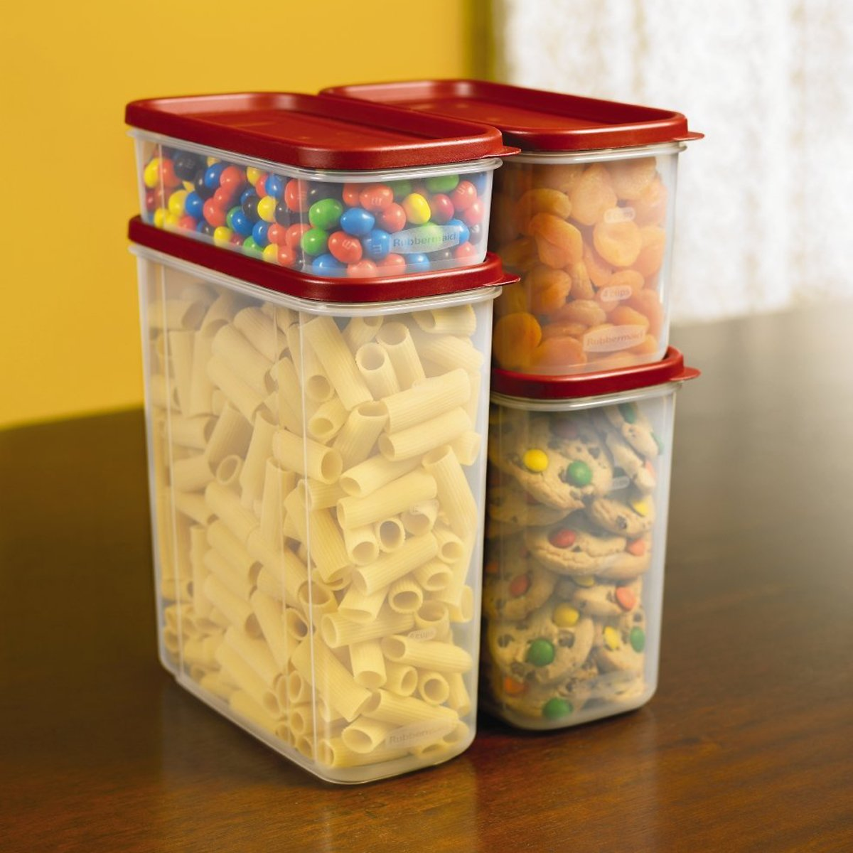 8-Pc Rubbermaid Modular Canister Set