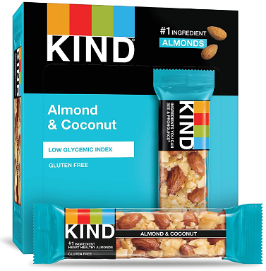 12-Count KIND Bars Almond & Coconut