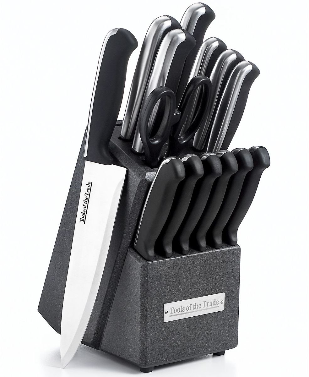 Tools of the Trade 15-Piece Cutlery Set