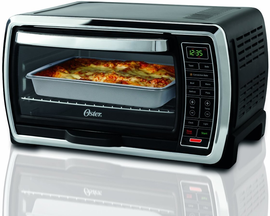 Oster Digital Large Capacity Toaster Oven, Stainless Steel