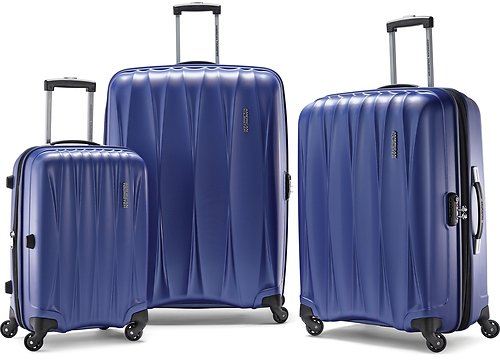 3-Piece American Tourister Arona Hardside Spinner Luggage Set (2 Colors) + Ships Free