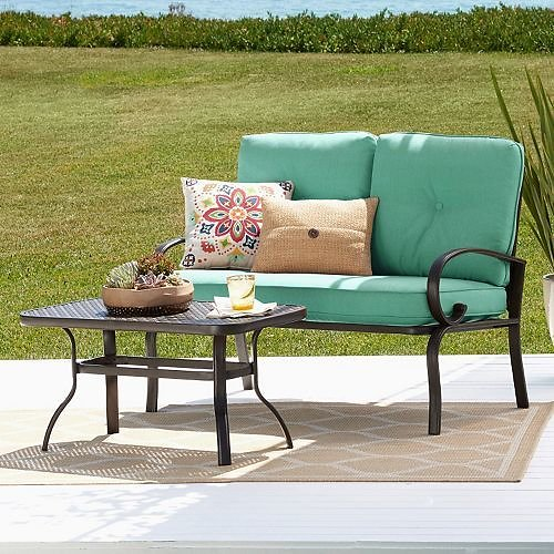 2-Piece SONOMA Patio Loveseat Set + Free Shipping (3 Colors)