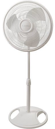 Lasko 16-inch Oscillating Pedestal Stand 3-Speed Fan