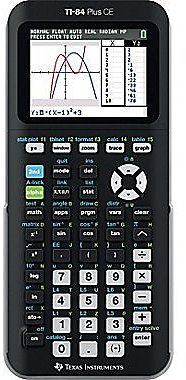 Texas Instruments TI-84 Plus CE Color Screen Graphing Calculator + $20 Coupon