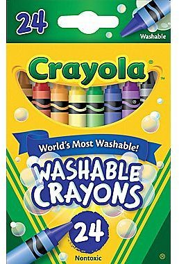 Crayola® Washble Crayons, 24/Pack (In Store)
