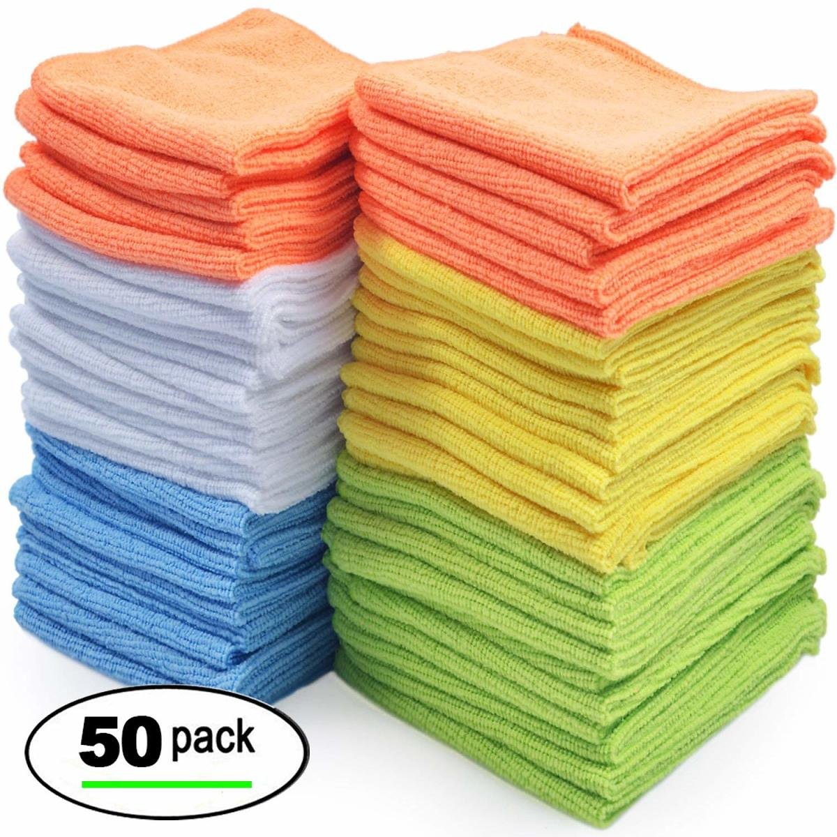 50-Ct. Best Microfiber Cleaning Cloths