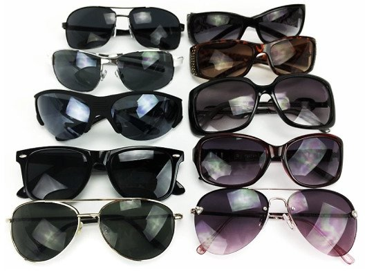 8 Pack Of Name Brand Sunglasses (3 Options)