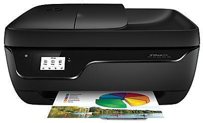 HP OfficeJet 3830 Wireless Color Inkjet All-In-One Printer, Scanner, Copier And Fax