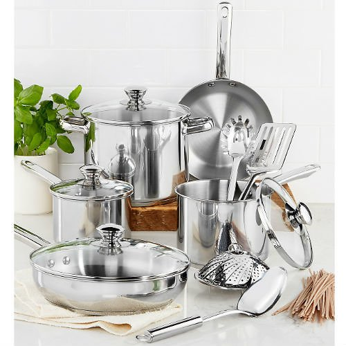 13-Piece Tools of the Trade Cookware Set
