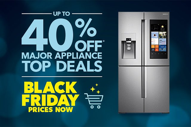 Best Buy Black Friday Prices Are Here—Up to 40% Off Major Appliances