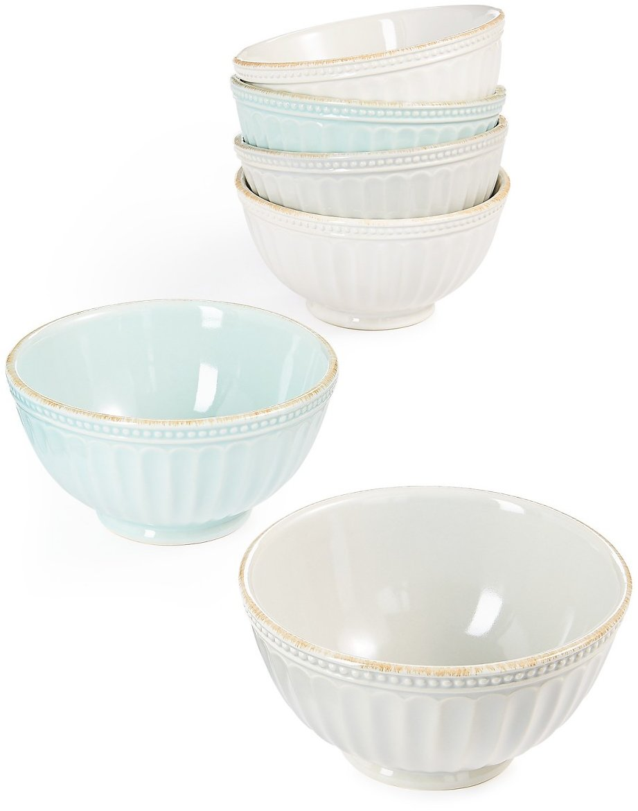 Lenox French Perle Groove All Purpose Bowl (3 Colors)