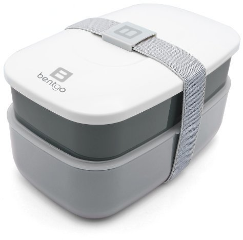 Bentgo Classic - All-in-One Stackable Bento Lunch Box Container
