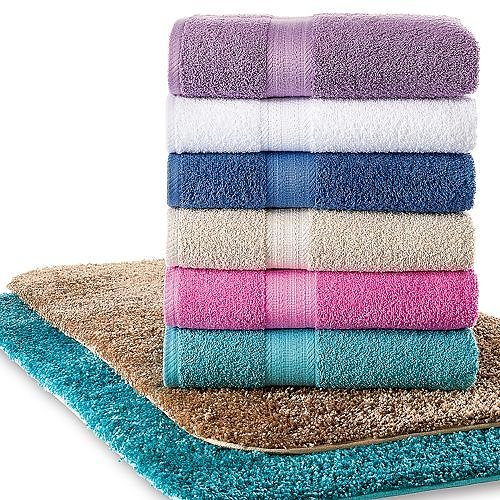 Kohl's The Big One Solid Bath Towels (16 Colors)