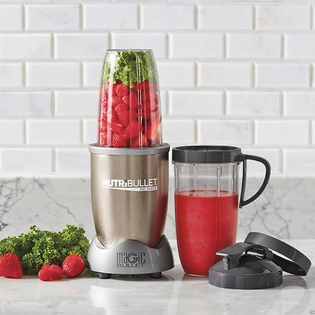 NutriBullet Pro 900 Kitchen Blender/Mixer (Ships Free)