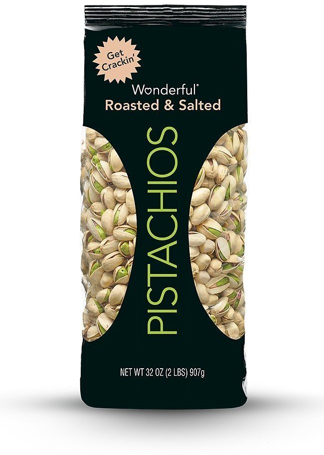 Wonderful Pistachios Roasted and Salted 32-Oz