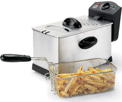 Bella 3.7-Qt Stainless Steel Deep Fryer