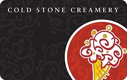 $50 Cold Stone Creamery Gift Card For $40