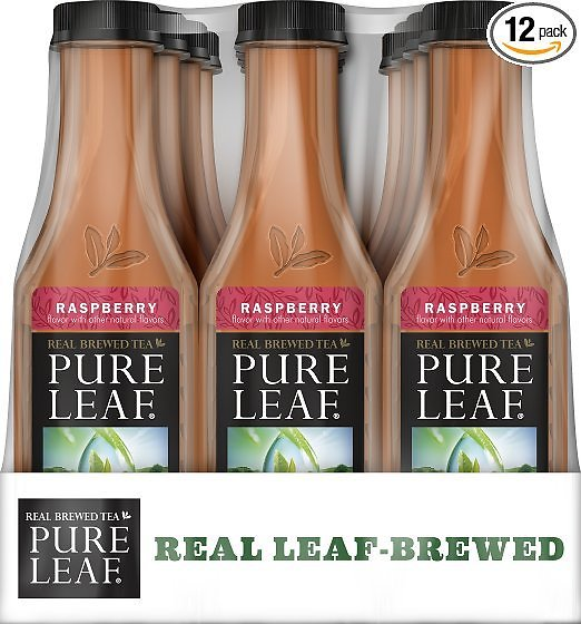 12-Pack Pure Leaf Real Brewed 18.5-oz. Iced Tea (Raspberry)