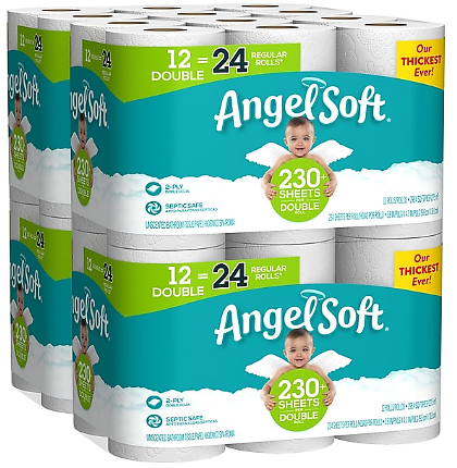 Toilet Paper, 2-Ply, White, 234 Sheets/Roll, 48 Rolls/Carton (79019)