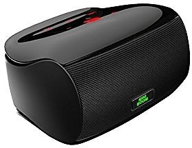 Mighty Rock Touch Wireless Bluetooth Speakers , Ultra Portable Speaker with Superior Sound Quality and Dual Powerful Subwoofer Enhanced Rich Bass, Built in Microphone (Black): Cell Phones & Accessories