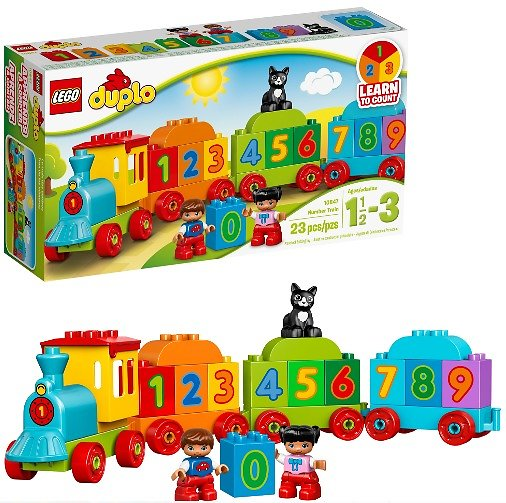 Lego Duplo My First Number Train (23 Pieces)