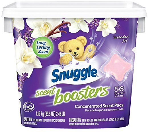 56Ct Snuggle Scent Boosters Laundry Scent Pacs