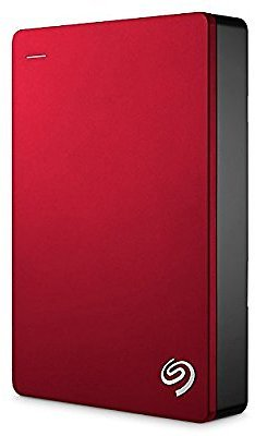 Seagate Backup Plus Portable External Hard Drive 5TB USB 3.0, Red + 2mo Adobe CC Photography (STDR5000103)