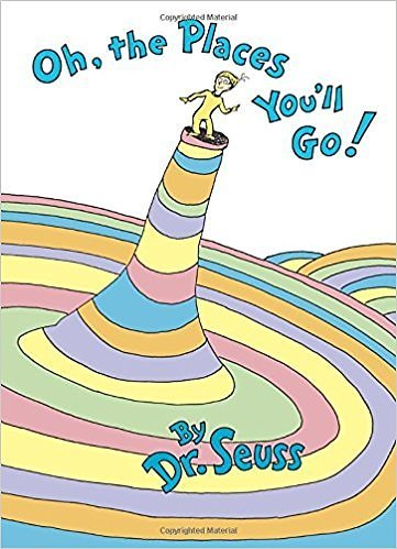 Oh, The Places You'll Go! by Dr. Seuss (Hard Cover)