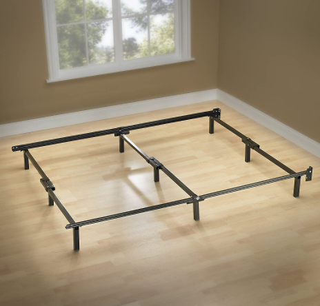Zinus Compack 9-Leg Queen Support Bed Frame
