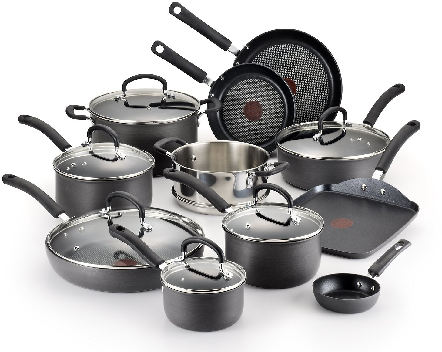 T-fal Ultimate Hard Anodized Non-stick Dishwasher Safe Oven Safe Cookware