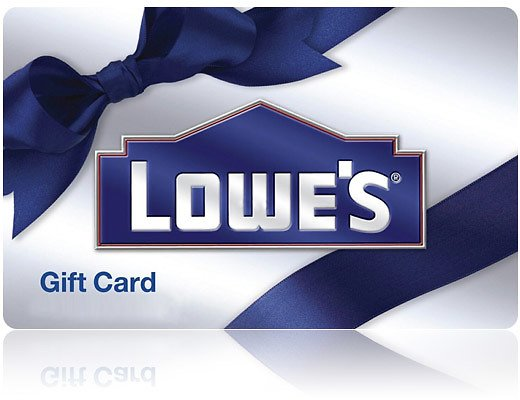 $100 Lowe's Gift Card (Email Delivery)