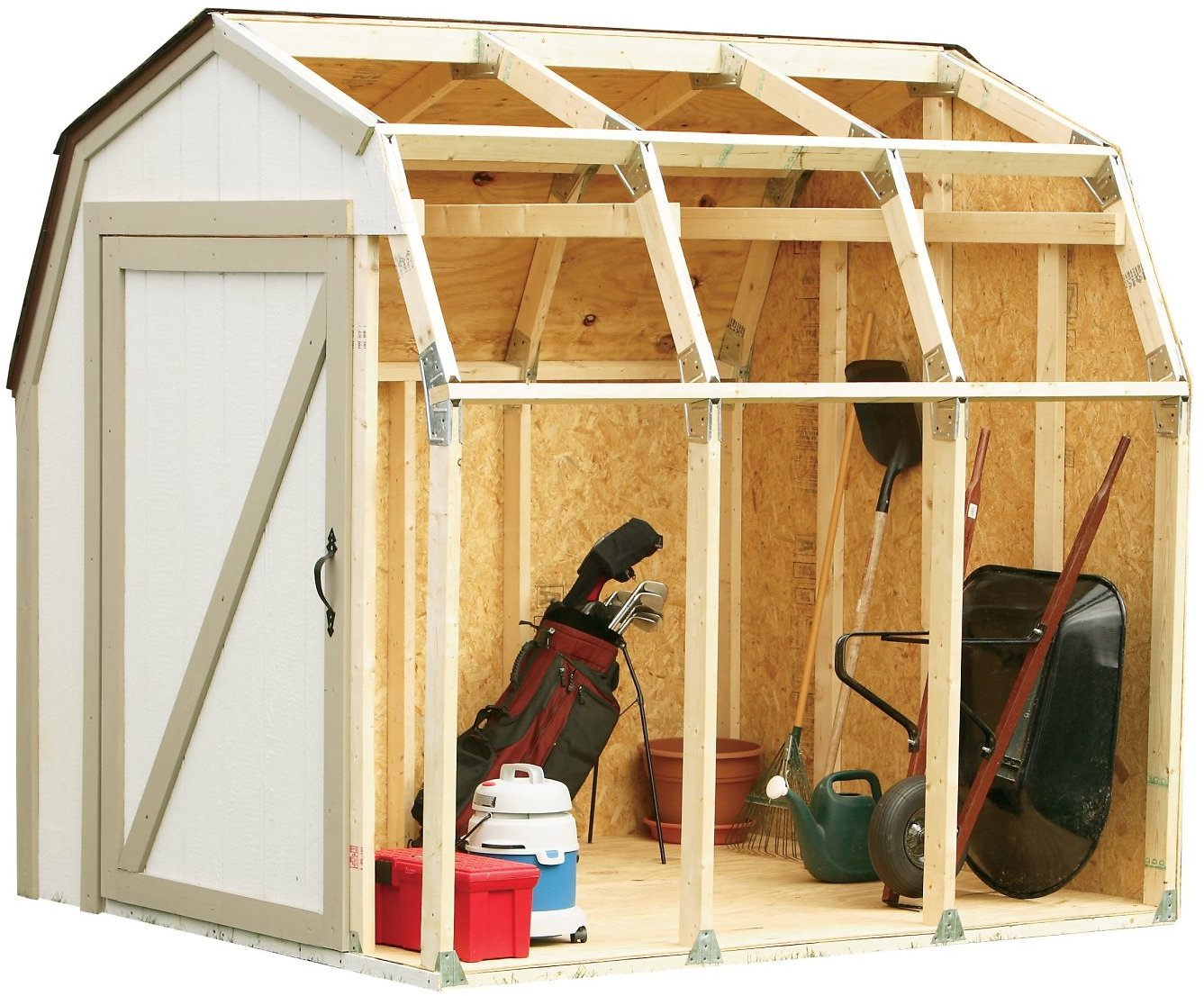 Hopkins Barn Style Roof Shed Kit