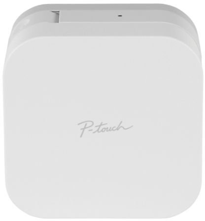 Brother® P-touch® CUBE Smartphone Label Maker, White, PTP300BT