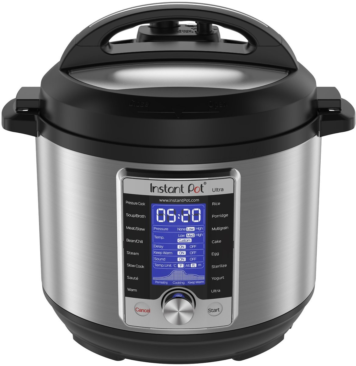 Instant Pot Ultra 6 Qt 10-in-1 Multi-Use Pressure Cooker