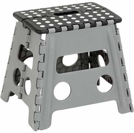 Honey-Can-Do TBL-02977 Folding Step Stool