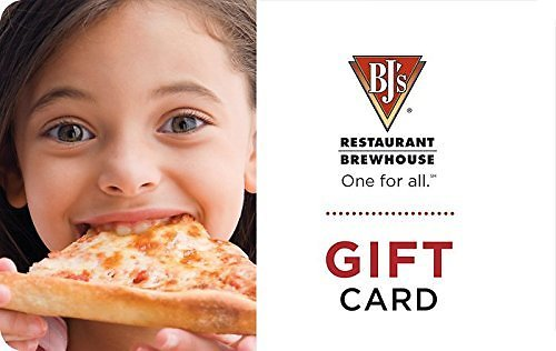 $50 BJ's Restaurant & Brewhouse Gift Card for $40 - E-mail Delivery